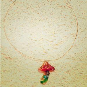 Jewelry - Handmade shroom choker